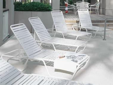 Woodard Baja Strap Aluminum Lounge Set WRGKDLS