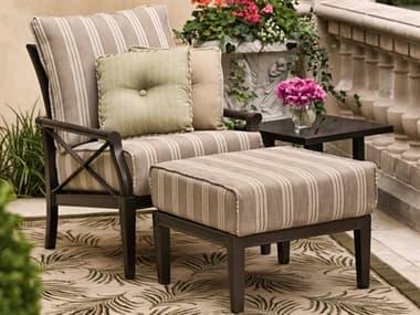 Woodard Andover Cushion Aluminum Lounge Set WRGVKLSSL