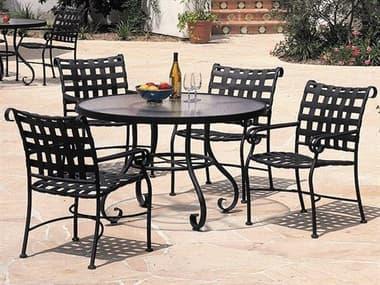 Woodard Ramsgate Aluminum Dining Set WRRAMDS