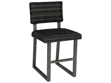 Woodard Canaveral Wicker Charcoal Gray Harper Counter Stool WRS508013
