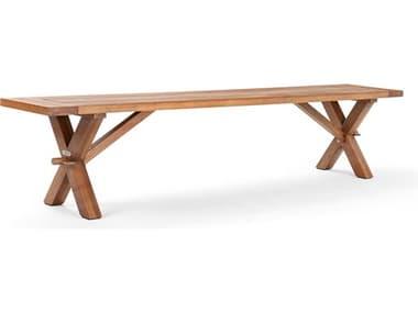 La-Z-Boy Quick Ship  Cumberland Eucalyptus Wood Bench WSCMBBEN