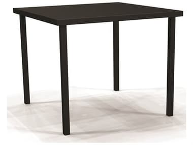 Winston Solid Top Aluminum 44'' Wide Square Counter Table WSM20044B