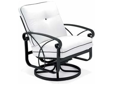 Winston Palazzo Cushion Cast Aluminum Arm Swivel Rocker Lounge Chair WSM23018