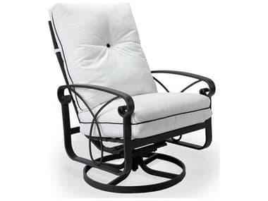 Winston Palazzo Cushion Cast Aluminum Arm Ultra Swivel Tilt Lounge Chair WSM23020