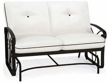 Winston Palazzo Cushion Cast Aluminum Arm Loveseat Glider WSM23021