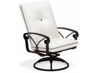 Winston Palazzo Cushion Cast Aluminum Arm Swivel Dining Chair WSM23049