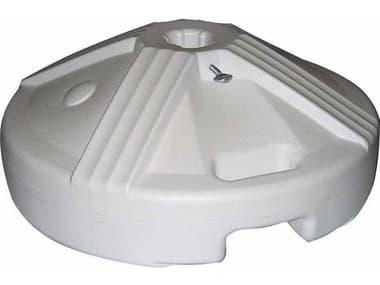 Winston Universal Aluminum White Umbrellas Base WSM9650W