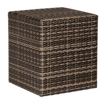 Woodard Whitecraft Saddleback Wicker 42'' Wide Square Coffee Table WTS523211