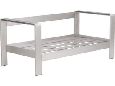 Zuo Outdoor Cosmopolitan Aluminum Faux Wood Sofa ZD701850