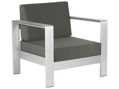 Zuo Outdoor Cosmopolitan Arm Chair Cushion Dark in Gray ZD703848