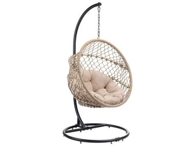 Zuo Outdoor Las Palmas Steel Natural Hanging Chair ZD703953
