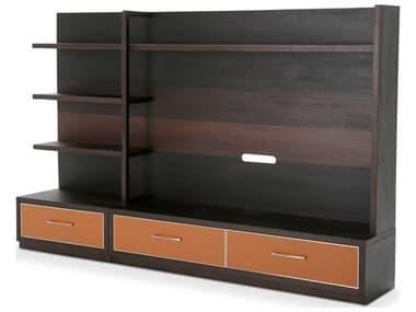Aico Furniture Michael Amini 21 Cosmopolitan Diablo Orange / Umber Entertainment Center AIC9029097812