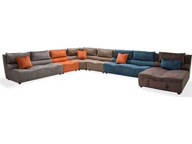 AICO Furniture 21 Cosmopolitan Sectional Sofa AICST21CSMSEC600