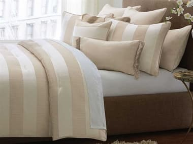 AICO Furniture Amalfi Sand Ten-Piece King Comforter Set AICBCSKS10AMLFISND