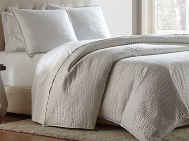 AICO Furniture Brilliance White Three-Piece Queen Coverlet/Duvet Set AICBCSQD03BRLINWHT