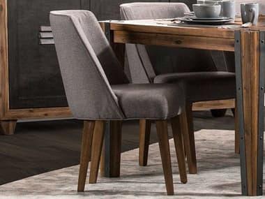 AICO Furniture Brooklyn Walk Burnt Umber Side Dining Chair AICKIBRKW003408