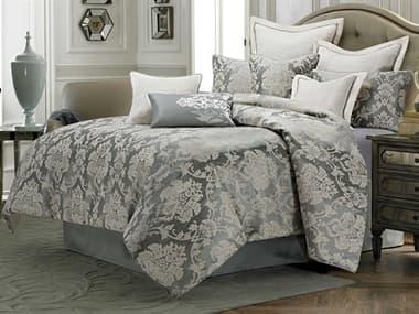 AICO Furniture Cambria Mineral Nine-Piece Queen Comforter Set AICBCSQS09CMBRIMNR