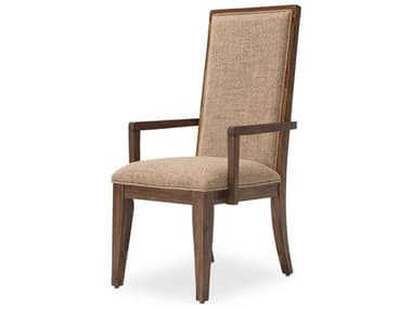 AICO Furniture Carrollton Rustic Ranch Arm Dining Chair AICKICRLN004407