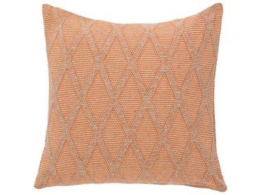 AICO Furniture Helena Orange Decorative Pillow AICBCSDP22HELNAORG