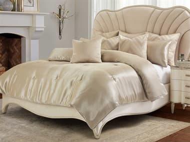 AICO Furniture Empire Sand Nine-Piece Queen Comforter Set AICBCSQS09EMPIRESND