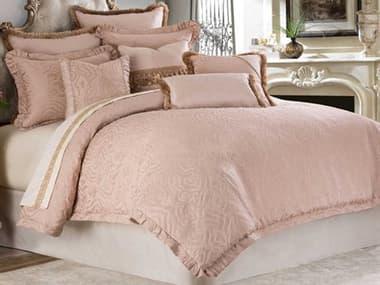 AICO Furniture Fontaine Quartz Ten-Piece King Comforter Set AICBCSKS10FONTNQTZ