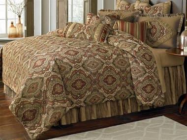AICO Furniture Hanover Lichen Ten-Piece King Comforter Set AICBCSKS13HNOVRLIC