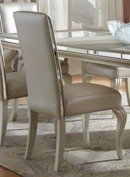 Aico Furniture Michael Amini Hollywood Loft Frost Dining Side Chair AIC900160308