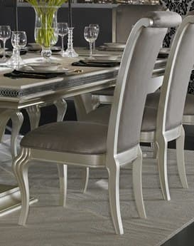 Aico Furniture Michael Amini Hollywood Swank Pearl Dining Side Chair AICNT0300308