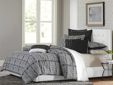 Aico Furniture Michael Amini Lucianna Nori Nine-Piece Queen Comforter Set AICBCSQS09LUCIANNOI