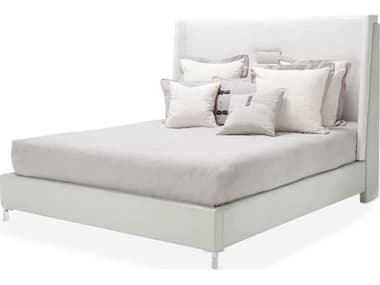 AICO Furniture Lumiere Gray California King Platform Bed AIC9013600CK107