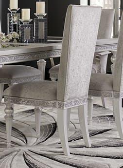 Aico Furniture Michael Amini Melrose Plaza Dove Dining Side Chair AIC9019003118