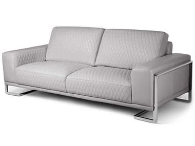 AICO Furniture Mia Bella Stainless Steel Sofa AICMBGIANN15LGR13