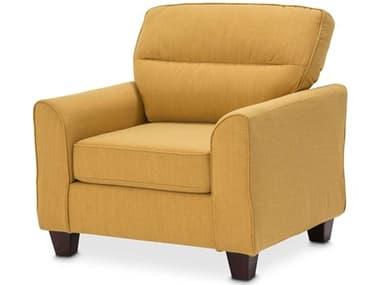 AICO Furniture Millenial Sun / Light Espresso Accent Chair AICKIAMLEN835SUN229