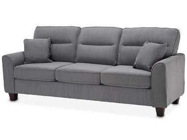 AICO Furniture Millenial Graphite / Light Espresso Sofa Couch AICKIAMLEN815GPH229