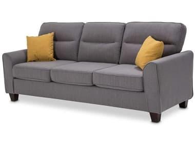 AICO Furniture Millenial Graphite / Sun / Light Espresso Sofa AICKIAMLEN815GRS229