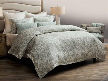 AICO Furniture Northridge Spa Eight-Piece King Duvet Set AICBCSKD08NORTHSPA