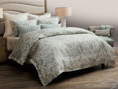 AICO Furniture Northridge Spa Seven-Piece Queen Duvet Set AICBCSQD07NORTHSPA