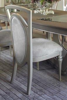 Aico Furniture Michael Amini Overture Champagne Dining Side Chair AIC08003RN10