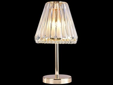 AICO Furniture Quill Clear 3-light Glass Table Lamp AICLTTL0013CLR
