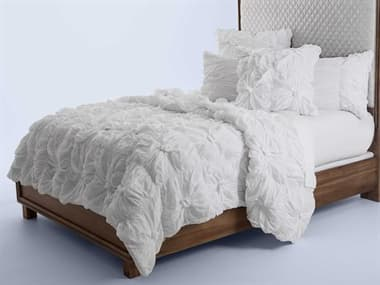 AICO Furniture Savanna White Six-Piece King Comforter Set AICBCSKS06SAVNAWHT