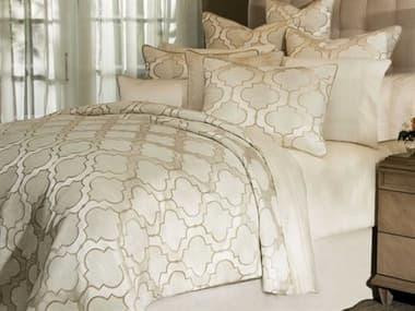 AICO Furniture Spectrum Pearl Ten-Piece Queen Comforter Set AICBCSQS10SPCTRMPERL