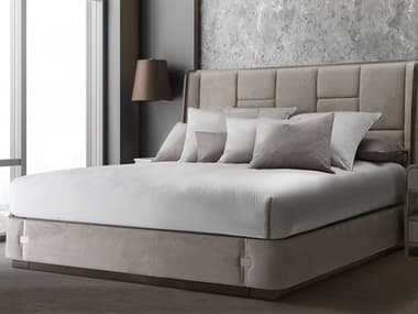 AICO Furniture Spencer Chrome Ten-Piece King Comforter Set AICBCSKS10SPNCRCRO