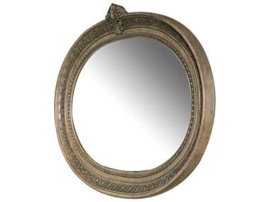 Aico Furniture Michael Amini Villa Di Como Heritage 59''W x 46''H Oval Wall Mirror AIC9053067207
