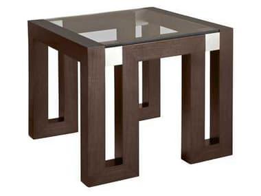 Allan Copley Designs Calligraphy 28 Square Espresso End Table AN3050402G
