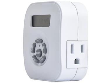 Amba White Programmable Plug-in Timer AMBATWP24