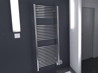 Amba Antus Polished Stainless 24''W x 58''H Heated Towel Rack AMBA2056P