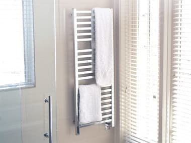 Amba Quadro Polished Stainless 24''W x 57''H Heated Towel Rack AMBQ2054P