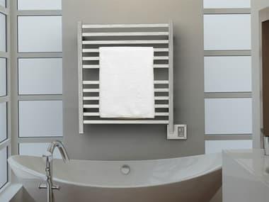 Amba Quadro Brushed Stainless 32''W x 35''H Heated Towel Rack AMBQ2833B