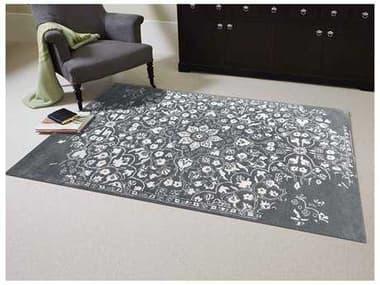 Amer Rugs Artist Gray-White Rectangular Area Rug ARART11HALC