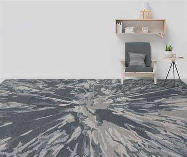 Amer Rugs Carrara Charcoal / Gray Ivory Rectangular Area Rug ARCRR16REC
